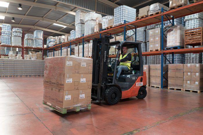 Manutention, Stockage et logistique Transports Cordier Hyper Volume