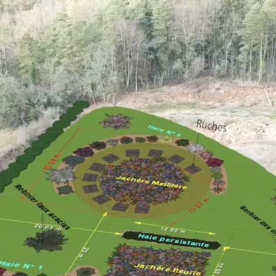 Un nouveau projet d'espaces verts chez Transports Cordier