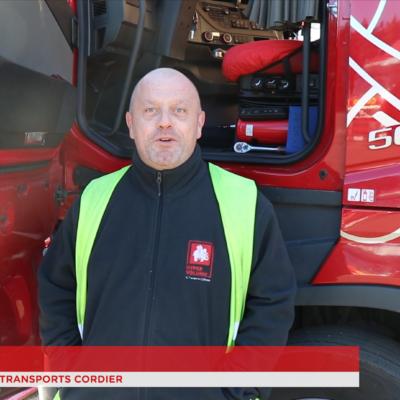 Vidéo – Les équipes des Transports Cordier vous présentent leurs meilleurs vœux pour 2019