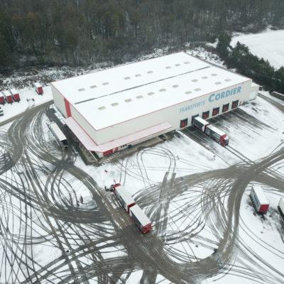 Chez Transports Cordier, hiver rime avec sécurité