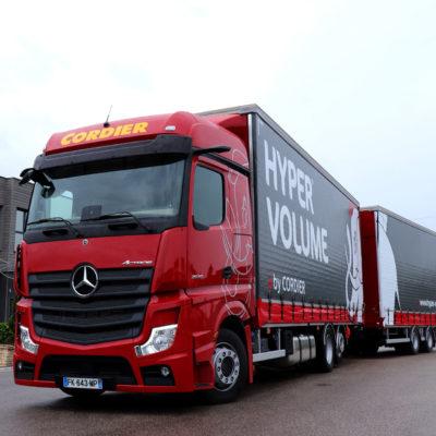 De nouveaux Mercedes Actros chez Transports Cordier