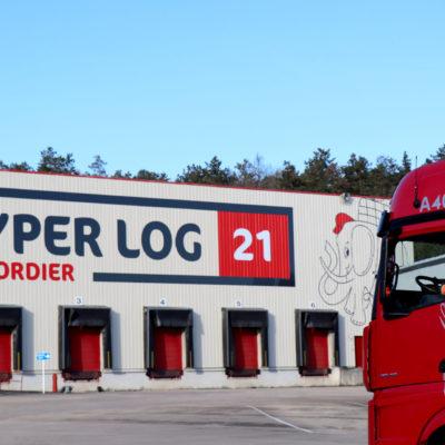 Changement de décor pour Hyper Log 21