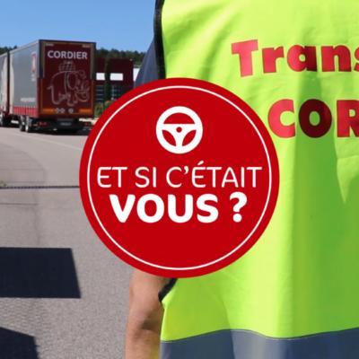 Conducteur chez Transports Cordier : et si c'était vous ?