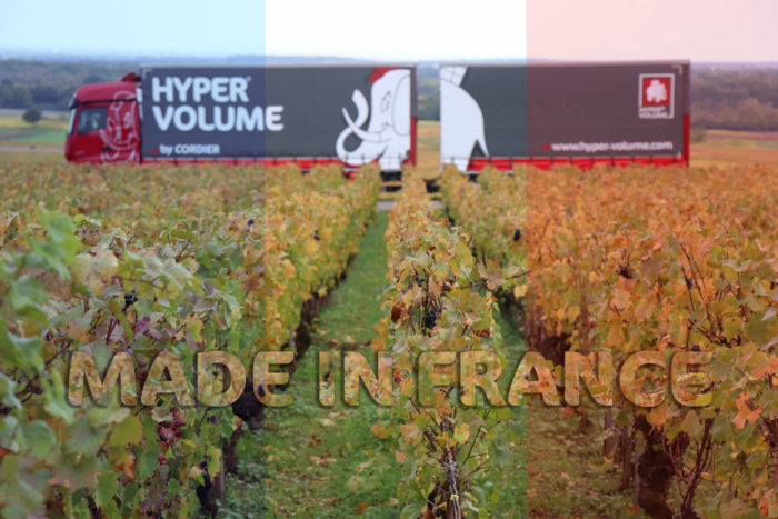 HYPER VOLUME transporteur made in France