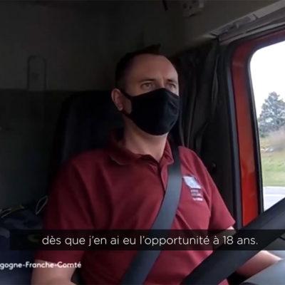 France 3 – Conducteur routier : solitaire et passionné