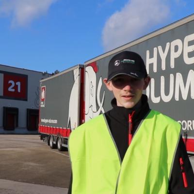 Retour d'expérience – Florian, conducteur routier à 18 ans