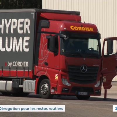 Transport et restaurants routiers – 19/20 France 3 Bourgogne